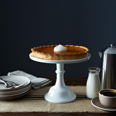 Milk Glass Cake Stand