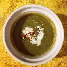 Sorrel & Spinach Soup