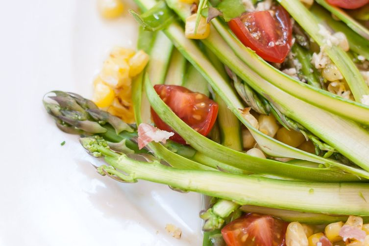 Healthy Asparagus Ribbon Salad