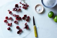 Roasted Cherry Sorbet