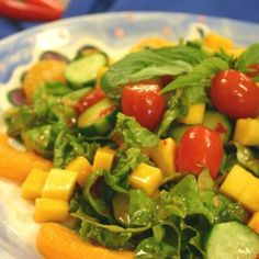 Lee Kum Kee Cucumber Mango Summer Salad