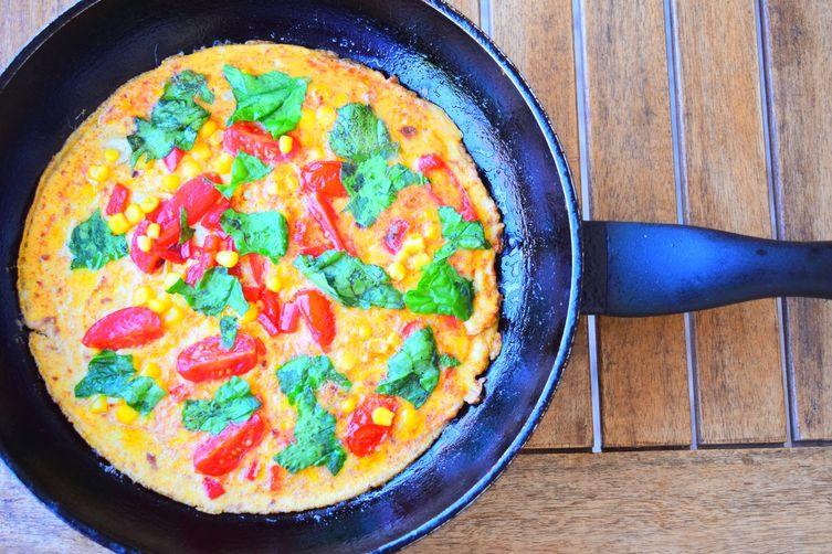 Sweetcorn Omelette