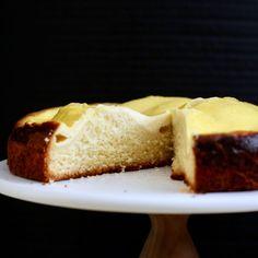 Ricotta Calvados Cake