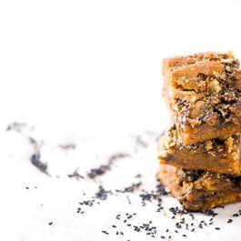 Sesame Caramel & Kinako Butterscotch Squares