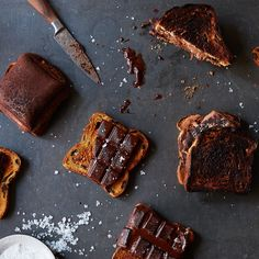 Burnt Cinnamon Toast & Chocolate S'more