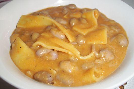 Croatian Bean Soup / Stew (Fažol i testo)
