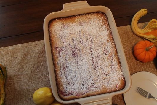 Lemon Cranberry Swirl Bars