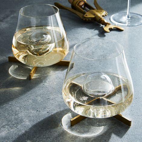 Schott Zweisel Mouth-Blown Bubble Wine Glasses