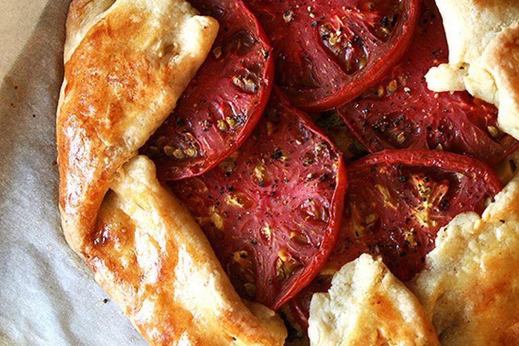 Tomato and Gruyere Cheese Galette