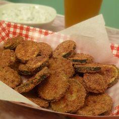 (Not Fried) Zucchini Chips