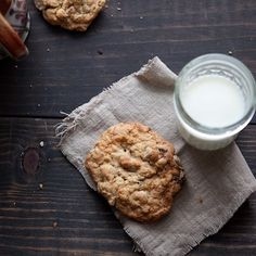 Fig and Chocolate Oatmeal Cookies