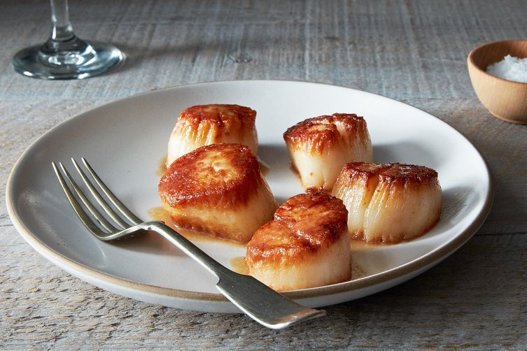 Tom Colicchio's Pan Seared Scallops