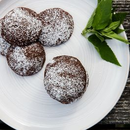 Wild Bergamot Chocolate Cookies