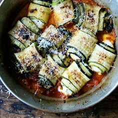 An Impressive-Looking, Incredibly Forgiving Way to Cook Zucchini