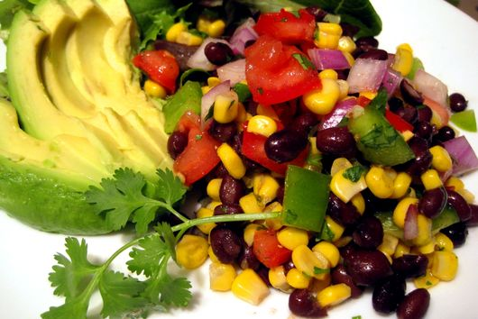 Black Bean and Corn Fiesta Salad