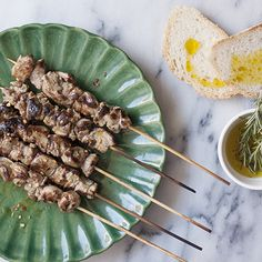 Three-Ingredient Lamb Skewers from Abruzzo, Italy