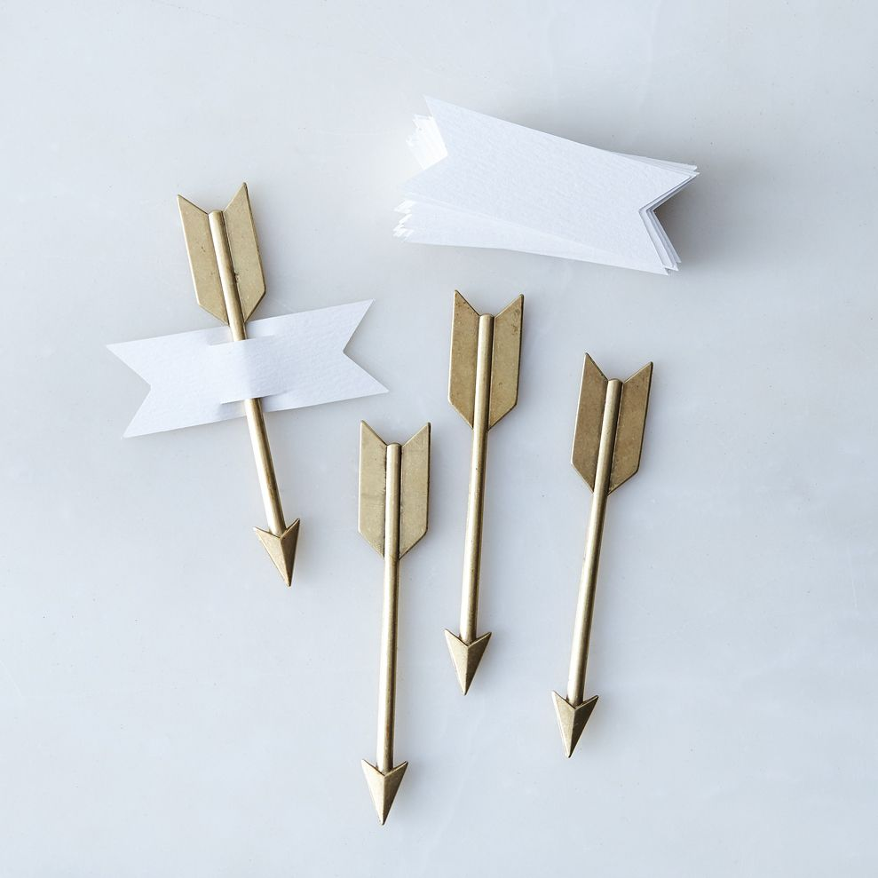 Ca9dccea 7453 4939 a3ed ca24eb3f3d33  2017 0328 beehive handmade metal arrow cheese markers set of 4 brass silo rocky luten 007