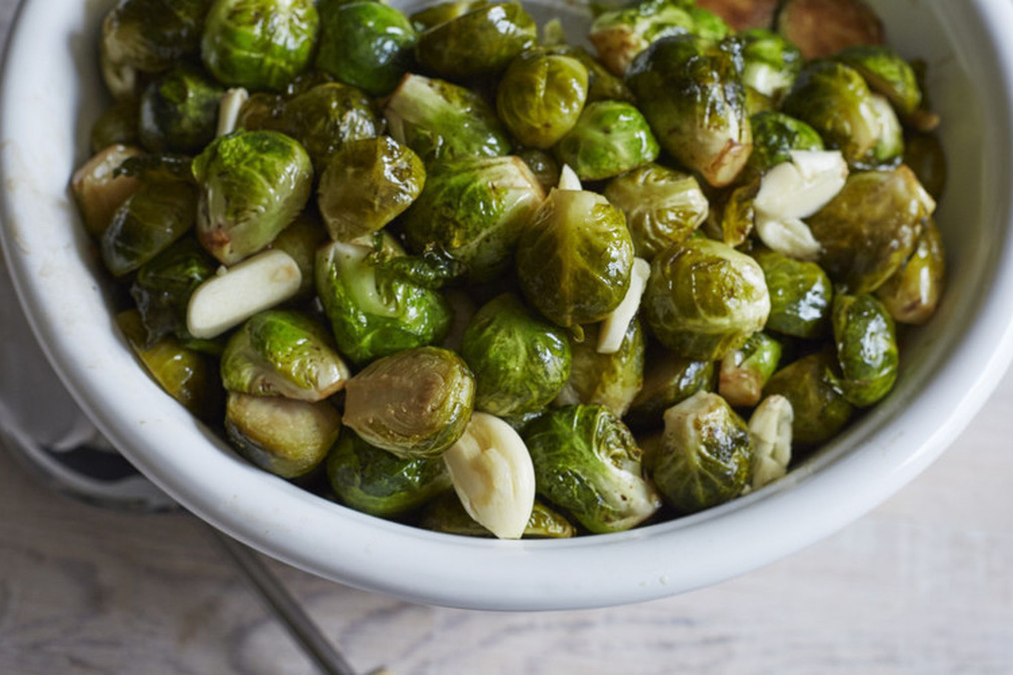 Sous Vide Brussels Sprout Confit Recipe On Food52
