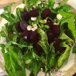 Arugula, Roasted Beets and Scallion Salad – It's all about the ingredients!