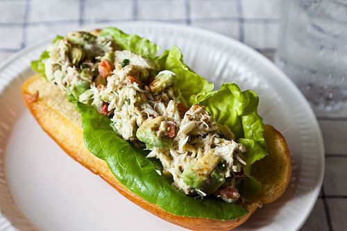 Avocado Crab Rolls
