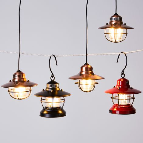 Edison String and Pendant Light