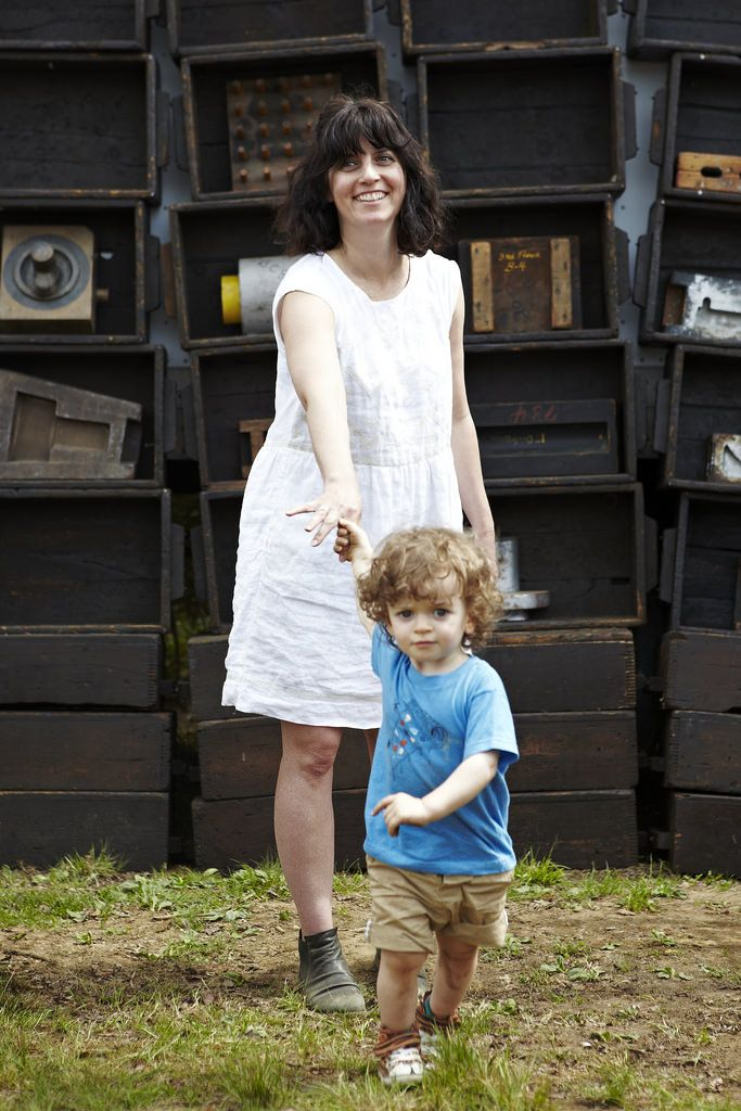 Alexis and Oliver at Brimfield