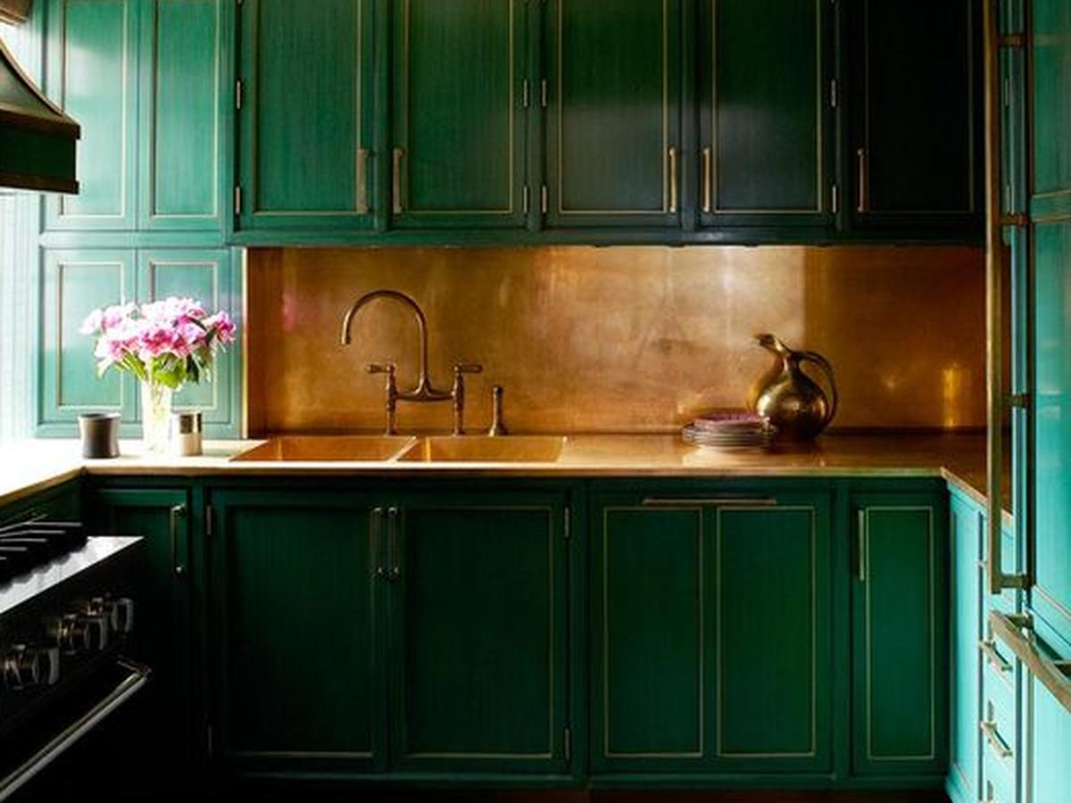 Copper Kitchen Countertops Practical or Magic