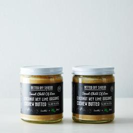 Organic Coconut Key Lime Cashew Butter (Pack of 2)