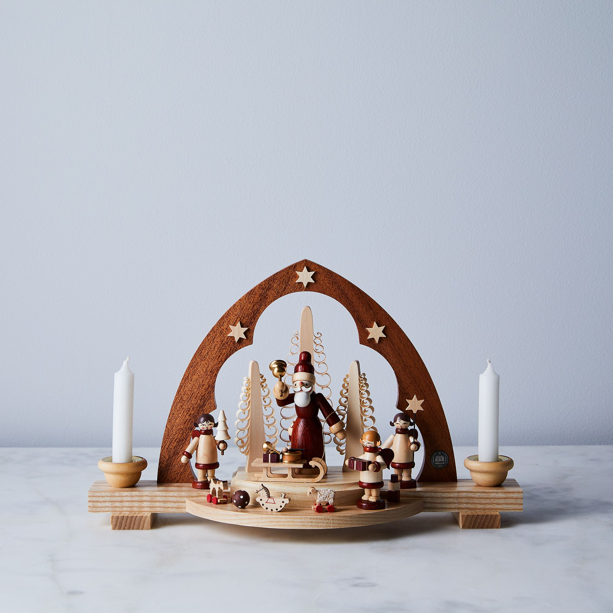 84c3d997 1fff 4600 8147 1bf6c3b0e73d  2017 1026 mueller german handcrafted holiday decor holiday arch w santa and candles silo ty mecham 007