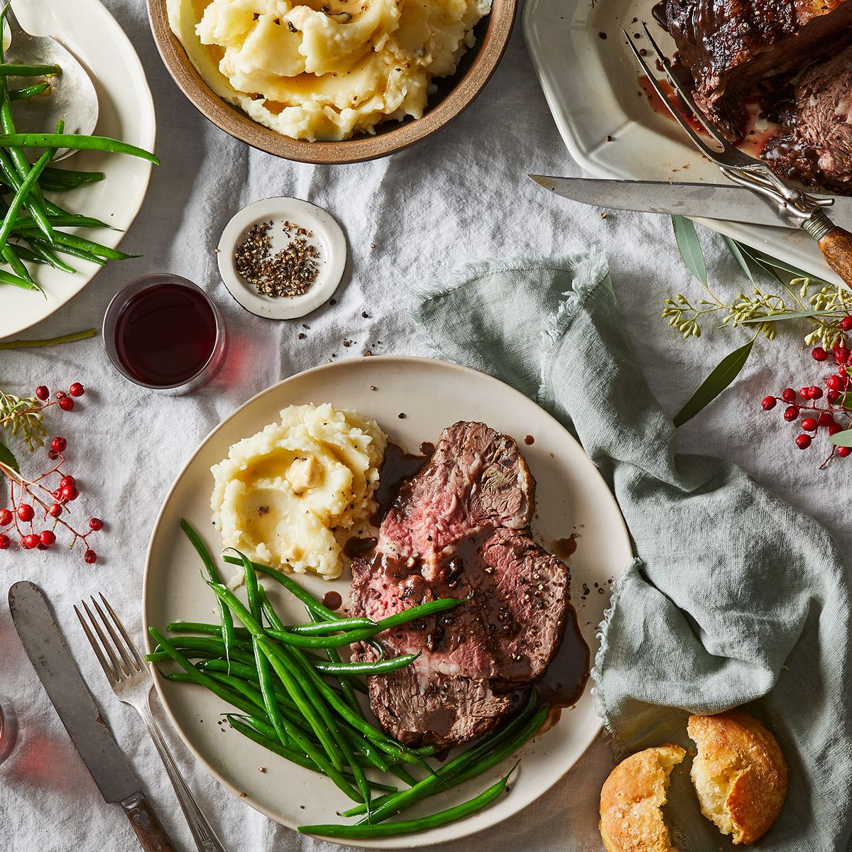 The Best Prime Rib Recipe Stars In This Easy Christmas Dinner Menu