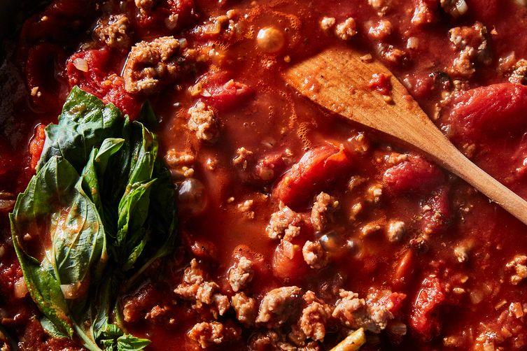 Kathy Brennan & Caroline Campion's Skillet Lasagna
