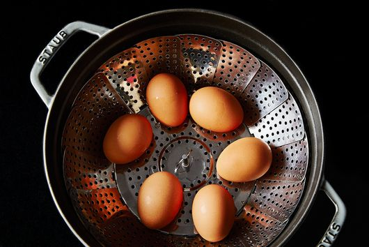 Is Steaming the Secret to Perfectly Hard-Cooked Eggs?