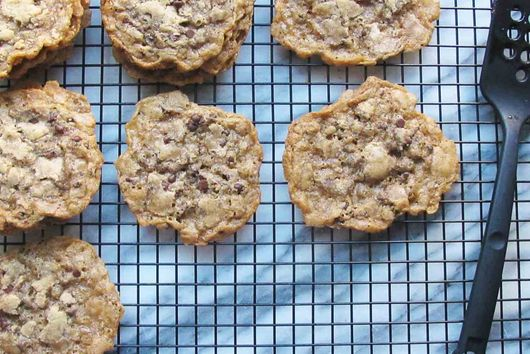 Gluten Free Thin & Crispy Chocolate Chip Cookies