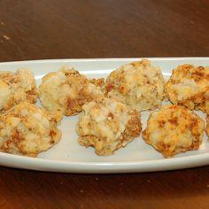 Louisiana Cheese and Sausage Balls