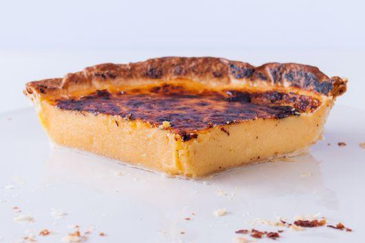 Giant Portuguese Custard Tart
