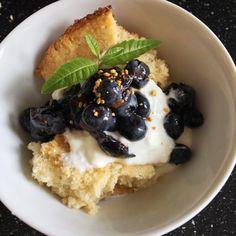 Gluten-Free Blueberry Breakfast Shortcake