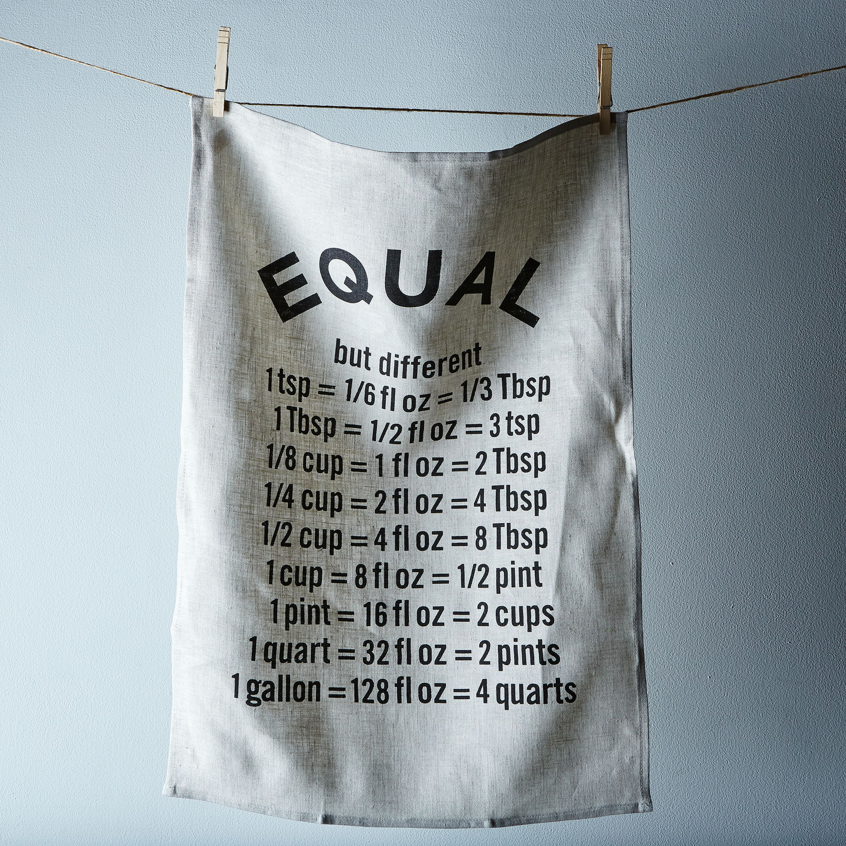 """Equal"" Tea Towel on Food52"