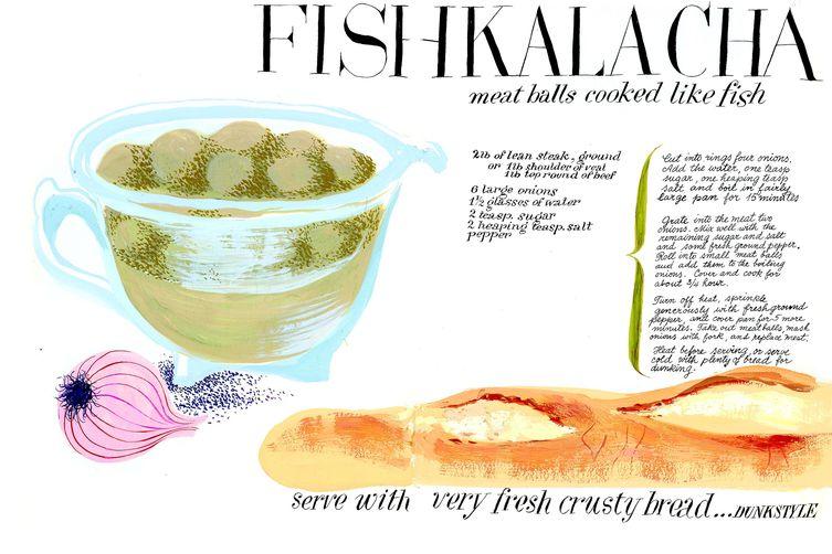 Cipe Pineles' Fishkalacha