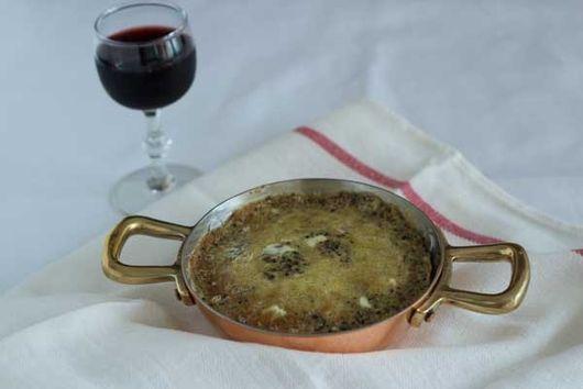 Truffle omelette – (frittata di tartufo nero) – Umbria, Secondo (Main course)