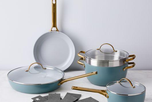 Food52 x GreenPan Nonstick 8-Piece Cookware Set