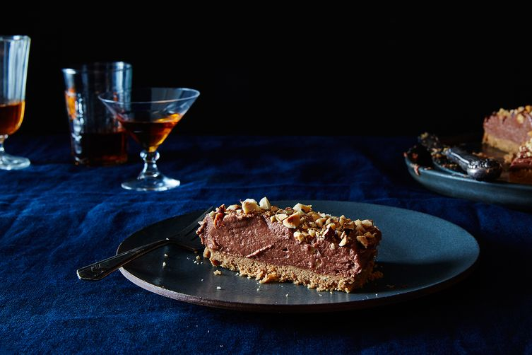 Nigella Lawson's No-Bake Nutella Cheesecake