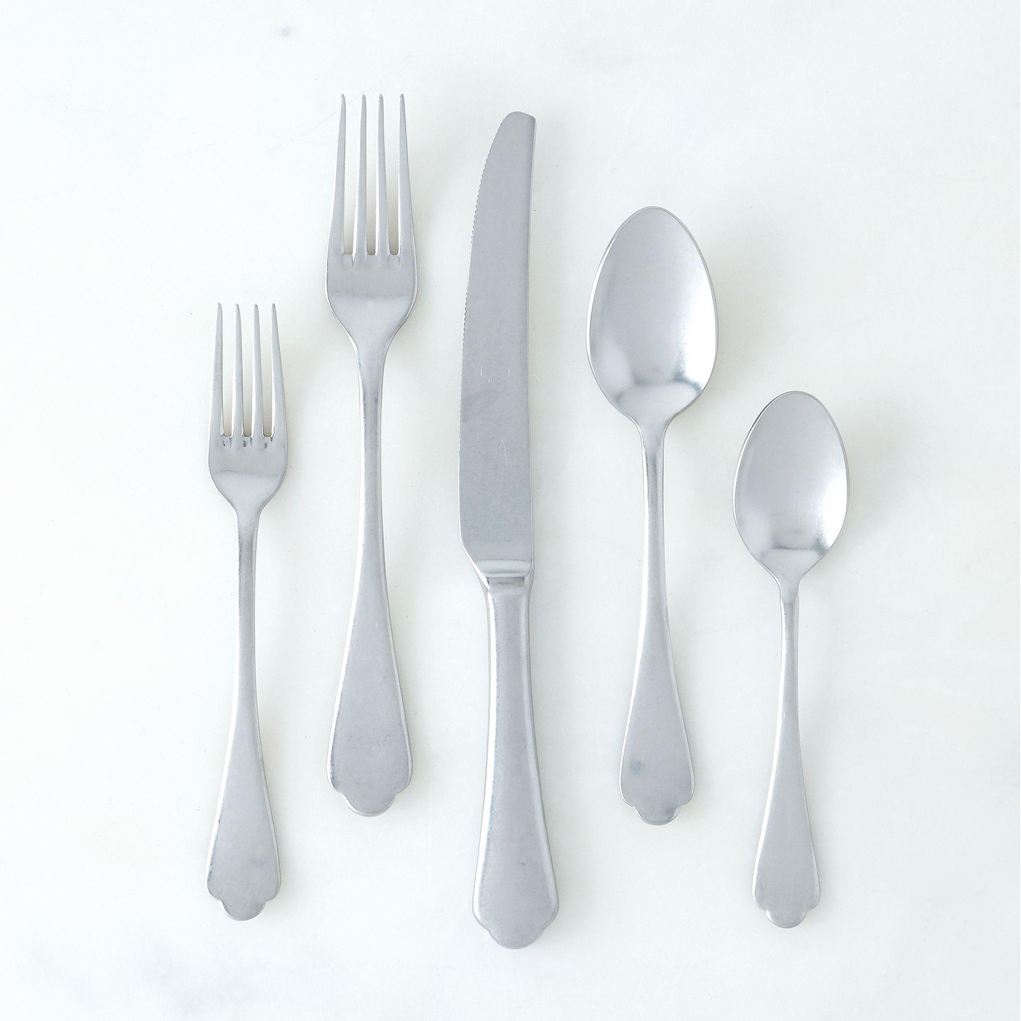 Italian Flatware, Dolce Vita (5 Piece Set) - Flatware -- Dinnerware ...