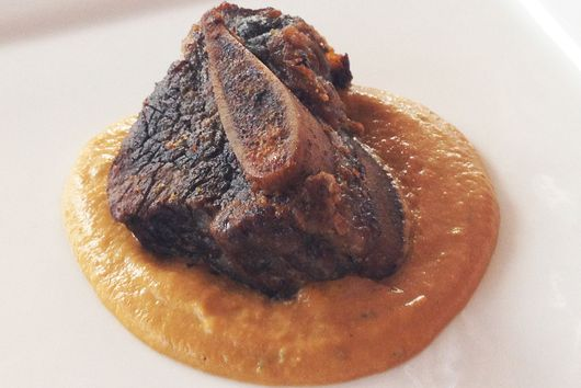 Slow Braised Short Ribs with Pan Puree