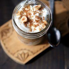 Applesauce Parfait with Cinnamon Breadcrumbs