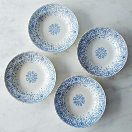 Vintage Soup Bowls c1885 (Set of 4)