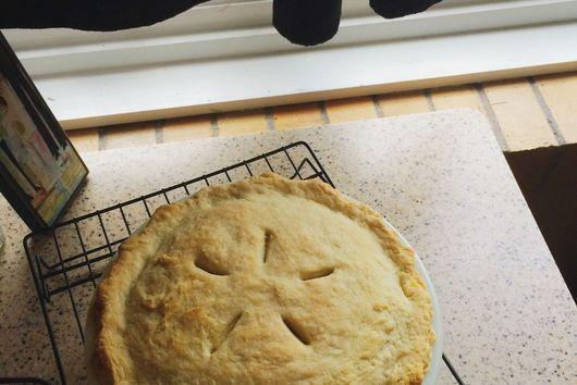 Double Crust Veggie Pot Pie