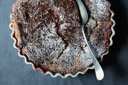 Strawberry Balsamic Spoon Cake with Poppy Seeds