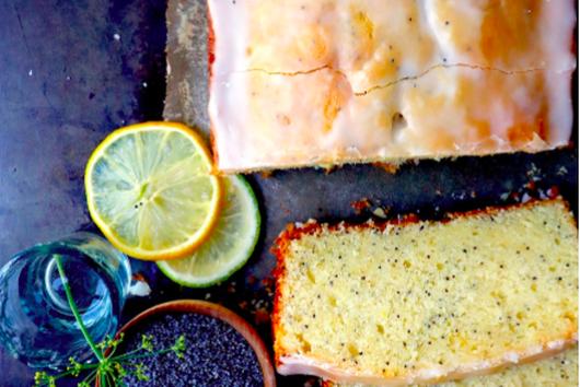 Lemon Poppy Pound Cake