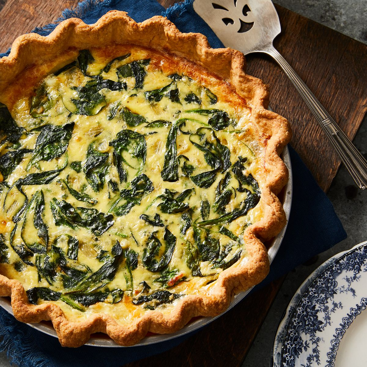 Best Spinach Quiche Recipe How To Make Spinach And Cheese Quiche
