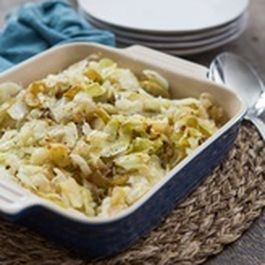 Cabbage with Onions and Apples